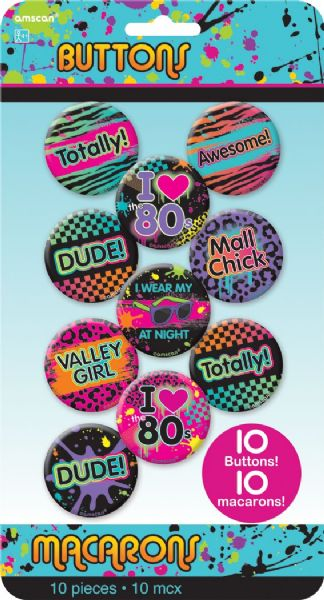 Totally 80s - Badges